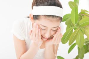肌荒れ 洗顔 方法